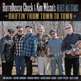"Barrelhouse Chuck and the Kim Wilson Blues All-Stars ""Driftin' from town to town"""